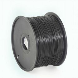 Gembird PLA filament for 3D printer, Black, 1.75 mm, 1 kg