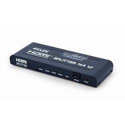 Gembird HDMI splitter, 4 ports