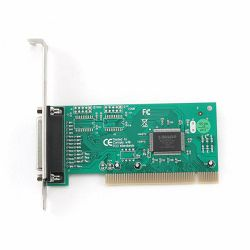 Parallel port PCI add-on card