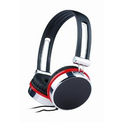 Gembird Stereo headphones, black color