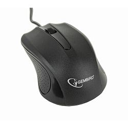 Optical mouse, USB, black