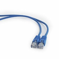 Gembird CAT5e UTP Patch cord, blue, 1 m