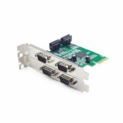 4 serial port PCI-Express add-on card