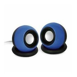 Gembird Stereo speaker 'Sphere', black blue