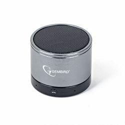 Gembird Bluetooth speaker, black and grey