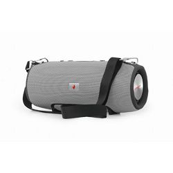 Gembird Bluetooth speaker with powerbank function, grey