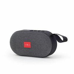 Gembird Portable Bluetooth speaker, Grey