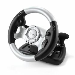 USB Force feedback steering wheel