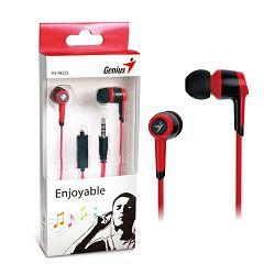 Slušalice Genius HS-M225R,in-ear slušalice,crvene