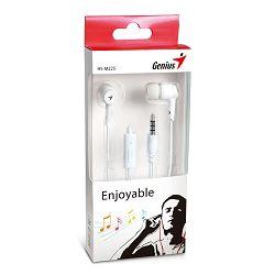 Slušalice Genius HS-M225W,in-ear slušalice,bijele