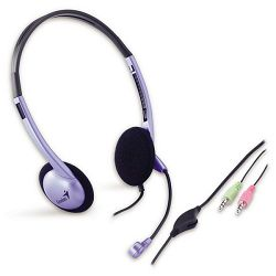 Genius HS-02B, slušalice s mikrofonom, 3,5 mm
