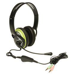 Genius HS-400A set, slušalice i mikrofon, zeleni