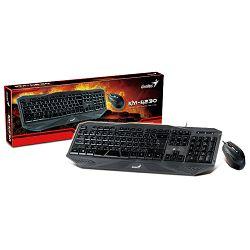 Genius Gaming KM-G230, tipkovnica i miš, USB, HR
