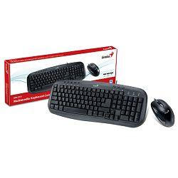 Genius KM-210, tipkovnica+miš USB