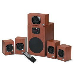 Zvučnici Genius SW-HF5.1 4600 II, 125W, drveni