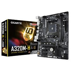 Matična ploča Matična ploča Gigabyte GA-A320M-H,AM4,,S3,U3,mA, DVI, HDMI