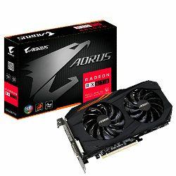 Grafička kartica Gigabyte RX 570 AORUS, 4GB GDDR5, HDMI, DVI