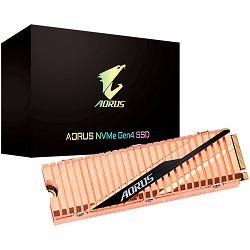 SSD GIGABYTE 500 GB,M.2 2280, PCI-Express 4.0 x4, NVMe 1.3, 5000MBs/2500MBs, Retail