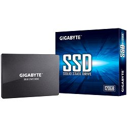 "SSD GIGABYTE 120GB, 2.5"", SATA III, 500MBs/380MBs, Retail"