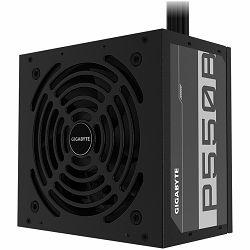 Napajanje GIGABYTE P550B Power Supply 550W, 80+ Bronze, 120mm HYB fan, EU plug
