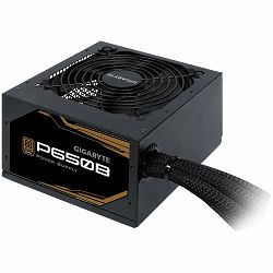 Napajanje GIGABYTE P650B Power Supply 650W, 80+ Bronze, Japanese capacitors, 120mm smart fan, EU plug
