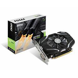 Grafička kartica MSI GeForce GTX 1050 GDDR5 2GB/128bit, 1404MHz/7008MHz, PCI-E 3.0 x16, DP, HDMI, DVI-D, Sleeve Fan Cooler (Double Slot), Retail