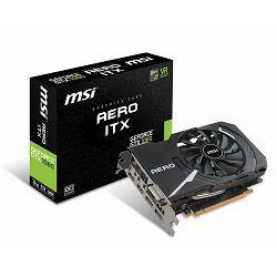 Grafička kartica MSI GeForce GTX 1060 OC GDDR5 3GB/192bit, 1544MHz/8008MHz, PCI-E 3.0 x16, 2xDP, 2xHDMI, DVI-D, Single Torx fan Cooler (Double Slot), Retail