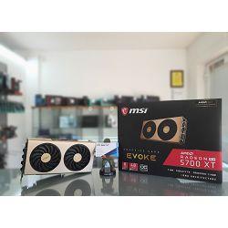 Grafička kartica MSI Radeon RX 5700 XT EVOKE OC GDDR6 8GB/256bit, 1835MHz/14000MHz, PCI-E 3.0, 3xDP, HDMI, TORX 2X Cooler(Double Slot), Backplate, Retail