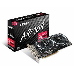 Grafička kartica MSI Radeon RX 580 ARMOR 8G GDDR5, OC