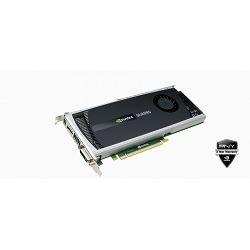 Grafička kartica NVIDIA Quadro 4000 2GB DDR5 256bit, DVI-I, 2x DisplayPort , PCI-Express