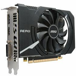 Grafička kartica MSI GeForce GTX 1050 OC GDDR5 2GB/128bit, 1404MHz/7008MHz, PCI-E 3.0 x16, DP, HDMI, DVI-D, Sleeve Fan Cooler (Double Slot), Retail