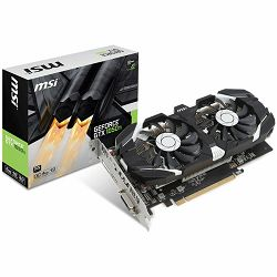 Grafička kartica MSI GeForce GTX 1050 Ti OC GDDR5 4GB/128bit, 1341MHz/7008MHz, PCI-E 3.0 x16, DP, HDMI, DVI-D, Sleeve 2X Fan Cooler (Double Slot), Retail