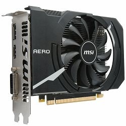 Grafička kartica MSI GeForce GTX 1050 Ti OC GDDR5 4GB/128bit, 1341MHz/7008MHz, PCI-E 3.0 x16, DP, HDMI, DVI-D, Sleeve Fan Cooler (Double Slot), Retail
