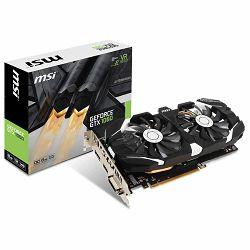 Grafička kartica MSI GeForce GTX 1060 OC GDDR5 6GB/192bit, 1544MHz/8008MHz, PCI-E 3.0 x16, DP, HDMI, DVI-D, Sleeve 2X Fan Cooler (Double Slot), Retail