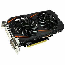 Grafička kartica GIGABYTE GeForce GTX 1060 GDDR5 6GB/192bit, 1556MHz/8008MHz, PCI-E 3.0 x16, HDMI, 2xDVI-D, DP, WINDFORCE 2X Cooler (Double Slot), Retail