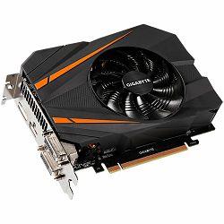 Grafička kartica GIGABYTE GeForce GTX 1070 GDDR5 8GB/256bit, 1531MHz/8000MHz, PCI-E 3.0 x16, HDMI, 2xDVI-D, DP, mini-ITX Cooler(Double Slot), Retail