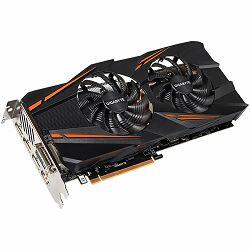 Grafička kartica GIGABYTE GeForce GTX 1070 GDDR5 8GB/256bit, 1556MHz/8008MHz, PCI-E 3.0 x16, HDMI, DVI-D, 3xDP, WINDFORCE 2X Cooler (Double Slot), Retail