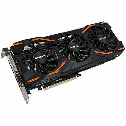 Grafička kartica Gigabyte GeForce GTX 1080 GDDR5X 8GB/256bit, 1632MHz/10010MHz, PCI-E 3.0 x16, HDMI, DVI-D, 3xDP, WINDFORCE 3X Cooler(Double Slot), Retail