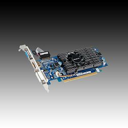 Grafička kartica GIGABYTE GeForce 210 GDDR3 1GB/64bit, 590MHz/1200MHz, PCI-E 2.0 x16,HDMI,DVI,VGA, VGA Cooler, Retail