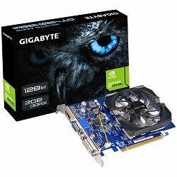 Grafička kartica GIGABYTE GeForce GT 420 GDDR3 2GB/128bit, 700MHz/1600MHz, PCI-E 3.0 x16, HDMI, DVI-I, VGA, Cooler, Retail
