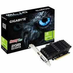 Grafička kartica GIGABYTE NVidia GeForce GT 710 2GB GDDR5 64bit DVI-I / HDMI Low Profile passive sink
