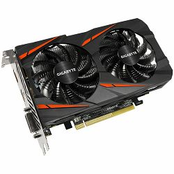 Grafička kartica GIGABYTE AMD Radeon RX460 GDDR5 2GB/128bit, 1212MHz/7000MHz, PCI-E 3.0, DP, HDMI, DVI-D, WINDFORCE 2X Cooler(Double Slot), Retail