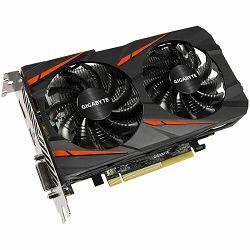 Grafička kartica Gigabyte AMD Radeon RX460 GDDR5 4GB/128bit, 1212MHz/7000MHz, PCI-E 3.0, DP, HDMI, DVI-D, WINDFORCE 2X Cooler(Double Slot), Retail