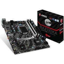 Matična ploča MSI H270 (S1151,4xDDR4,1xPCI-Ex16,2xPCI-Ex1, USB3.1,USB2.0,SATA III,RAID,M.2, DVI,HDMI,GLAN) mATX Retail