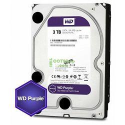 Tvrdi disk HDD WD Purple (3.5 Surveillance Hard Drive, 3TB, 64MB, RPM IntelliPower, SATA 6 Gb/s)