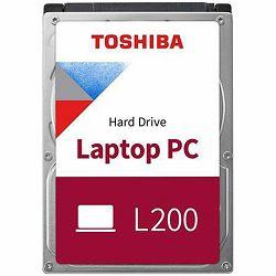Tvrdi disk TOSHIBA HDD mobile L200-1TB-54RPM-128MB-SATA-2.5