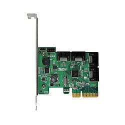 HighPoint RocketRAID 640L 6Gb/s 4-port PCI-E 2.0 x4 SATA RAID Controller, Low Profile, Retail