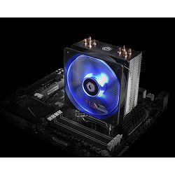 Hladnjak za procesor ID-Cooling SE-224M-B, 120mm, Blue Led,