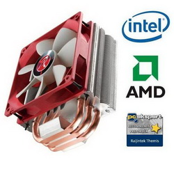 Hladnjak za procesor RAIJINTEK Themis Heatpipe CPU-Cooler, PWM - 120mm