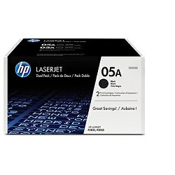 Toner HP 05A 2-pack Black Original LaserJet